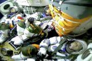 Китайские космонавты впервые за 13 лет вышли в открытый космос