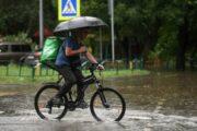 Ученый объяснил, почему не стоит гулять под дождем в Москве