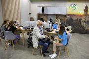 Сбер открыл первый в Липецке офис нового формата: Бизнес: Экономика: Lenta.ru