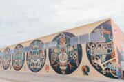 Художники создали огромное граффити на форуме «Россия — страна возможностей»: Искусство: Культура: Lenta.ru