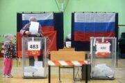 В России завершились трехдневные выборы: Политика: Россия: Lenta.ru