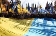 На Украине участник марша националистов оскорбил евреев